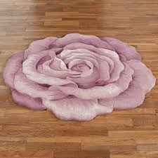 Round Bathroom Rugs by Claire Bloom Lavender Rose Flower Shaped Rugs Lavender Flower