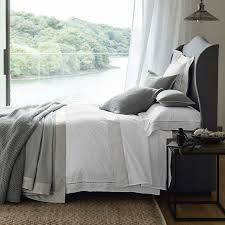 valencia bed linen collection bedroom the white company uk