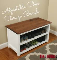 Plans To Build A Storage Bench by Fix This Build That Http Fixthisbuildthat Com Diy