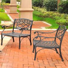 Outdoor Seating by Crosley Furniture Sedona 2 Piece Cast Aluminum Outdoor