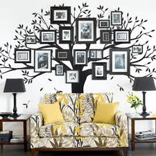 Bedroom Wall Decals Trees Family Tree Wall Decal Tree Wall Decal For Picture Frames