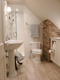 Small Master Bathroom Remodel Ideas by Best 25 Attic Bathroom Ideas On Pinterest Green Small Bathrooms