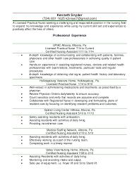 Sample Resume Lpn by Lpn Resume Sample Template Examples