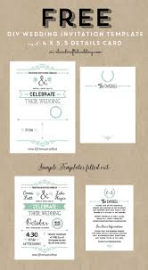 Free E Wedding Invitation Cards The 25 Best Free Invitation Templates Ideas On Pinterest Diy