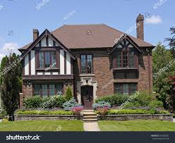 Tudor Style by Tudor Style House Two Gables Stock Photo 146306351 Shutterstock