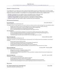 Administrative Assistant Resume Objective Examples by Legal Assistant Resume Objective Free Resume Example And Writing