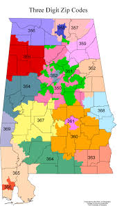 Florida Area Code Map by Zip Code Map Alabama Zip Code Map