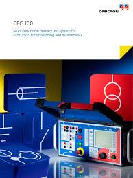 cpc 100 omicron electronics pdf catalogue technical