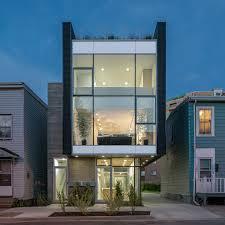 a modern live work residence with smart urban garden dwell