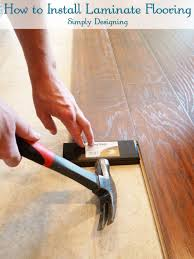 Laminate Flooring No Transitions How To Install Floating Laminate Wood Flooring Part 2 The