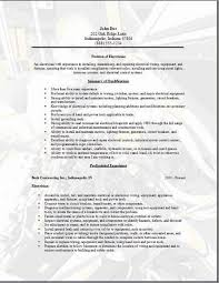Journeyman Electrician Resume Sample by Electrician Resume Templates Ilivearticles Info