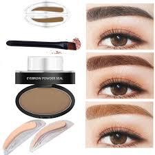 amazon com weka eyebrow powder stamper seal eyebrow pencil thrush