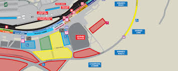 Phoenix International Raceway Map by Champion U0027s Corner Talladega Superspeedway