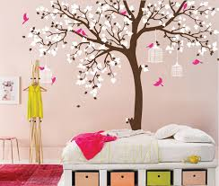 Baby Room Wall Murals by Baby Room Wall Decals Spring Impressed Butterfly Nursery Tree