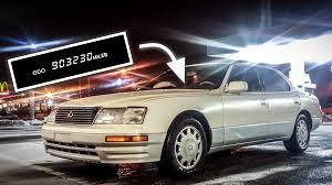 lexus cpo ls lexus ls 400 driving for 1000000 miles