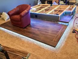 best home theater tv tv guy custom built home theater platform youtube homes design