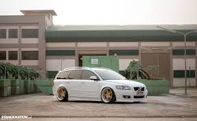 2004 volvo truck oh my this is not your regular volvo v50 wagon stanced flush
