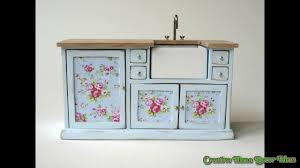 Shabby Chic Kitchen Cabinet Shabby Chic Kitchen Cabinet Youtube