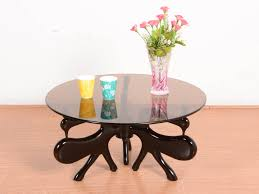 Buy Rubber Wood Furniture Bangalore Epic Solid Glass Top Coffee Table Buy And Sell Used Furniture And