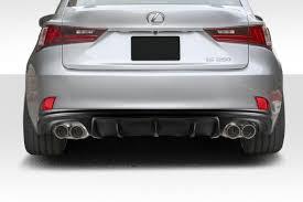 lexus is250 f sport for sale uk 14 15 lexus is am design duraflex rear bumper lip body kit