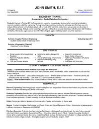 Sample Resume  Professional Engineer Resume Template Exle Chemical  Mr  Resume
