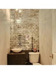 Glass Subway Tile Backsplash Kitchen Tile Enlarge Your Space And Make Shine With Mirrored Subway Tiles