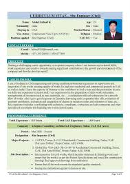Resume Samples Electrical Engineering by Sample Cv Mechanical Engineer Hvac