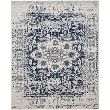 Area Rug 12 X 15 Shop Safavieh Madison Nord Cream Navy Rectangular Indoor Machine