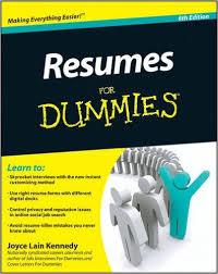Resumes For Dummies  Joyce Lain Kennedy                 Amazon com  Books Amazon com
