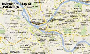 Map Of Boston Neighborhoods by Judgmental Maps Pittsburgh Pa By Haterburgh Copr 2014