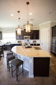 travertine countertops large kitchen island with seating lighting