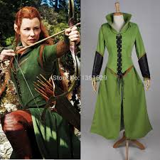 anime costumes for halloween good quality anime halloween tauriel cosplay costumes hobbit