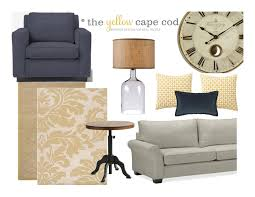 New Home Design Questionnaire The Yellow Cape Cod A Custom Ceiling Treatment For Erica U0027s Living