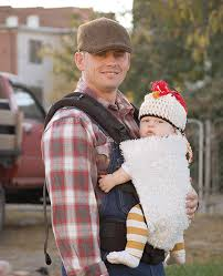 Baby Carrier Halloween Costumes Baby Costume Chicken Farmer Diy Costume Mini Rooster