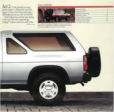 nissan pathfinder new price 1989 nissan pathfinder dealer brochure nicoclub