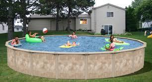 15 u0027 round dorado steel frame pool