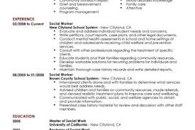 Social Worker Resume Example Social  amp  Services Sample Resumes