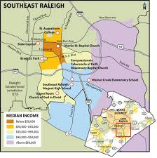 Southeast Map The Other Side Of Town Southeast Raleigh U0027s Problems And Promise