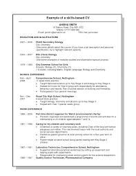 Liaison Resume Sample by Skill Based Resume Template Haadyaooverbayresort Com