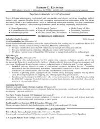 resume examples for job professional resume administrative professional resume