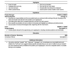 Breakupus Unusual Good Resume Objective For Any Job