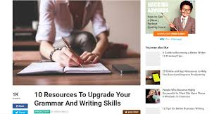 Resources For Every Student to Become an Essay Writer Lifehack Even native English speakers get tripped up on some common grammatical errors  This website helps you improve your grammar skills so you can write papers of