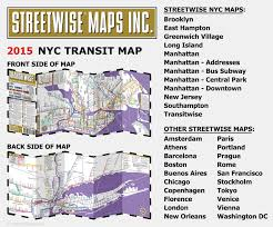 New Orleans Downtown Map by Streetwise Transitwise New York City Subway Map Manhattan Subway