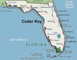 Map Of Lakeland Florida by Seashells In Cedar Key