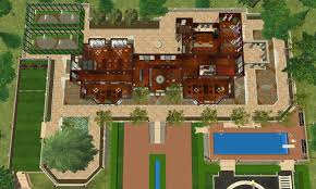 Floor Plans For Mansions Mod The Sims X Men Mansion Charles Xavier U0027s For Gifted