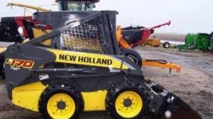new holland l160 l170 skid steer loader service parts catalogue