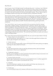 Profile Section Of Resume Examples by Personal Summary Resume Examples Personal Statement Resume