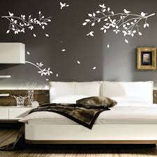 Bedroom Wall Decor Ideas Decorations Comfortable Vinyl Wall Art Ideas With Hanging Bird