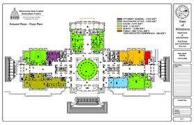 Floor Planners by Future Occupancy Floor Plans Minnesota Capitol Restoration