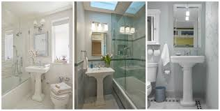 Tiny Bathroom Sinks Small Bathroom Redo Inspiration Obsessed With Pedestal Sinks
